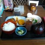 夢庵 定番ランチは安くておいしい 599円(税抜)