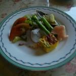 レストラン龍杉創(りょうざんそう)コース料理 前菜
