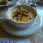 レストラン龍杉創(りょうざんそう)コース料理 グラタン