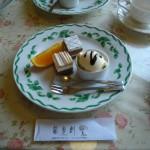 レストラン龍杉創(りょうざんそう)コース料理 デザート