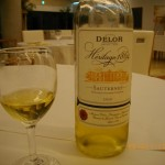デロー2010ソーテルヌとサツマイモのデザート