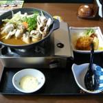 牡蠣のあったか味噌仕立て鍋【単品】とおつまみ牡蠣フライ