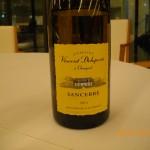 Domaine Vincent Delaporte Sancerre 2011 a Chavignol [三酒三品の会2/9]