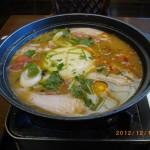カーボカットで夢庵の豆腐チゲ鍋