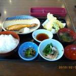 ランチ焼魚4 銀鮭の柚庵焼をお茶づけにする[夢庵 府中押立町店]