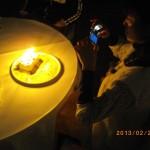 ルヴェソンヴェール南大沢での誕生日のお祝い