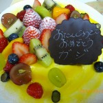 バースデーケーキがウマい!キング「洋菓子とパンの城」[八王子 下柚木 野猿街道沿い]
