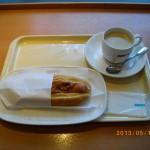 ドトールコーヒーのチリドック
