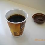 月曜日の早くからマックコーヒー