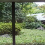 首都大学から京都が見えた