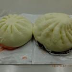 メガ肉まんと普通の肉まんの比較[井村屋 ファミマ]