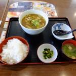 夢庵カレーうどん+ランチ御飯セットの炭水化物最強伝説