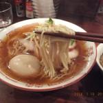 鴨ガラスープで麺は細麺[しば田 仙川]