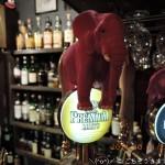 ハロウィン ビールサーバーにデリウムのピンクの象