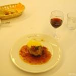 ルヴェソンヴェール南大沢 Aランチ(肉料理) 豚肩ロース肉のトマト煮 カレー風味